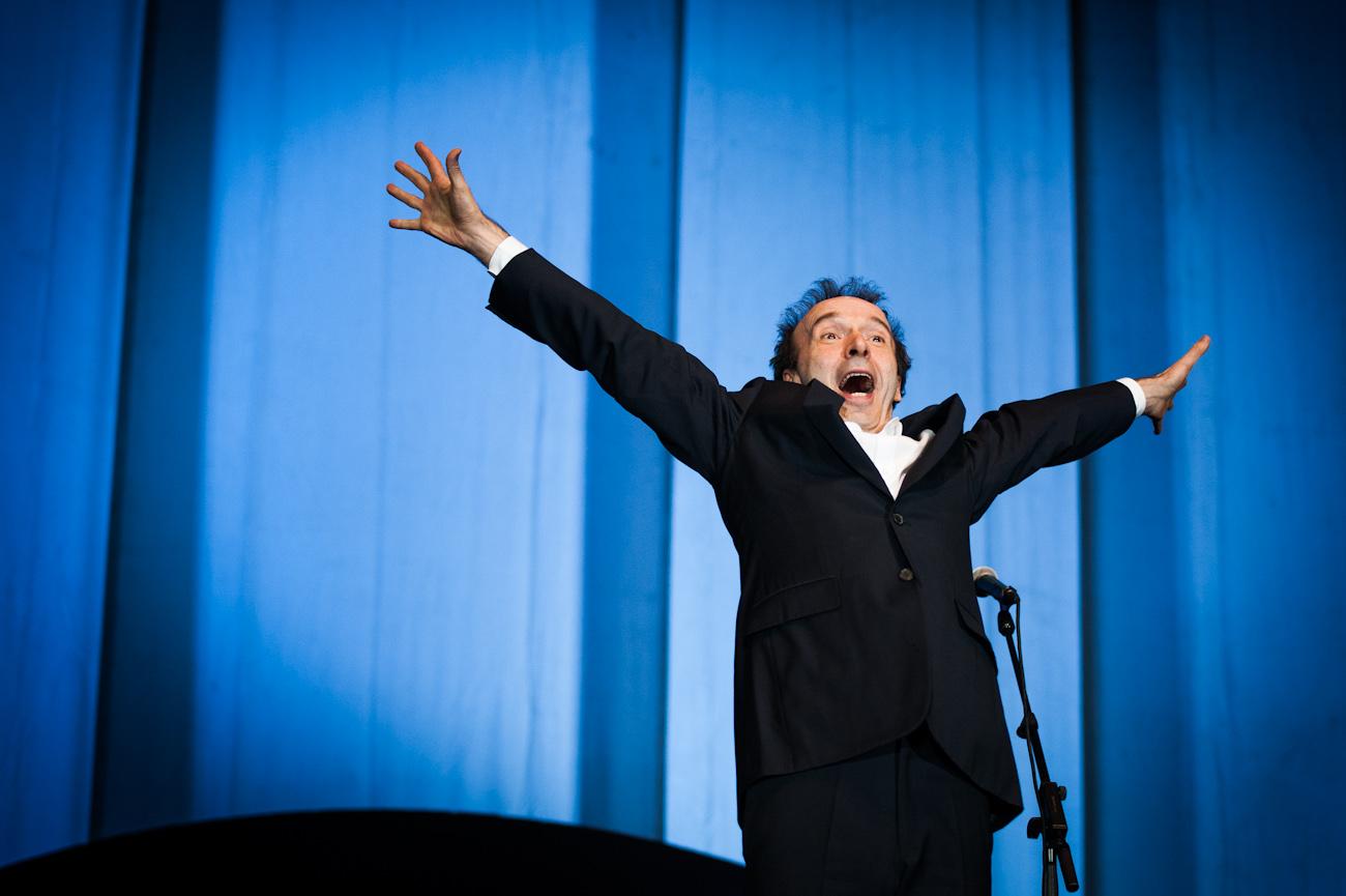 Roberto Benigni al Teatro Carignano