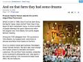 The Sidney Morning Herald / Articolo sull'evento Terra Madre 2008