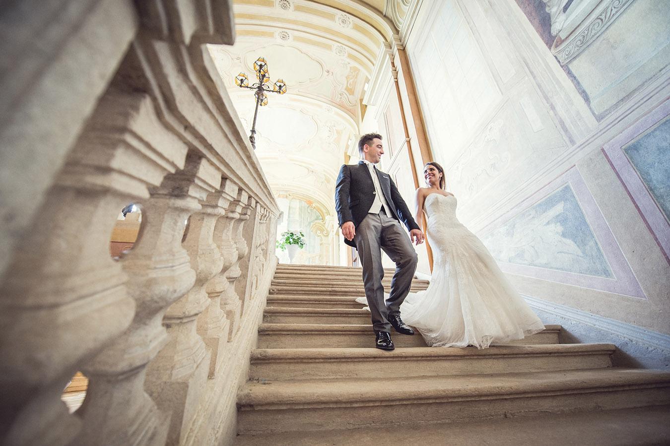 Stefania e Francesco, Villa Bria 2015