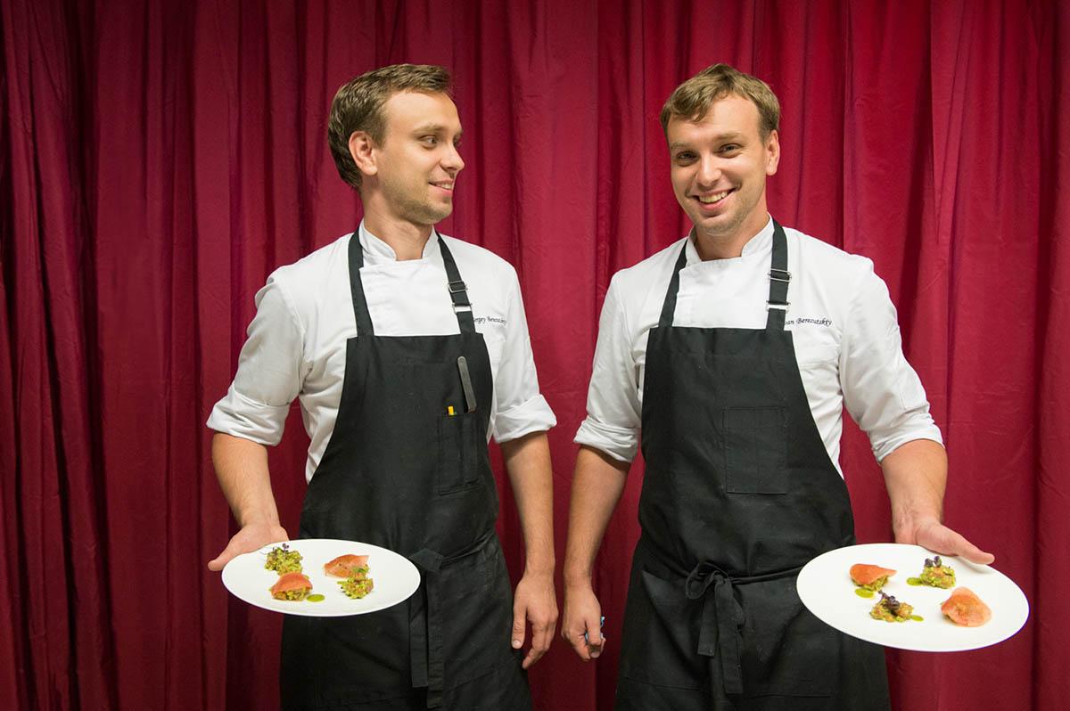 Berezutsky brothers. Twin Garden chefs