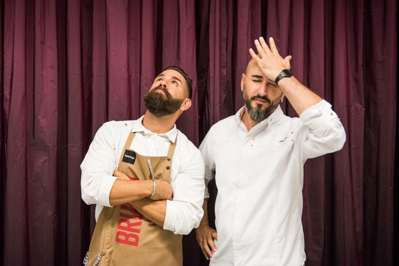 Chef Artur Martinez e Marc Ribas