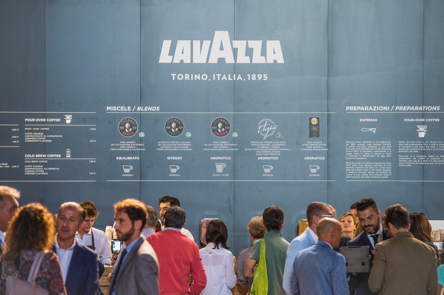 Lavazza workshop