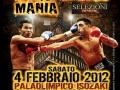 Fotografie per la campagna pubblicitaria degli eventi Thai Boxe Mania 2010-2011-2012
