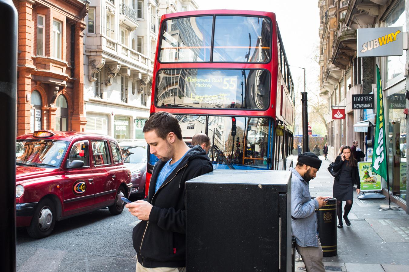 """Londra 2014, tratta dal progetto """"Vicini e lontani"""""""